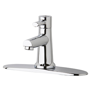 Chicago Faucets 3510-8E2805AB - 8-inch Center Single Supply, Single Lever Faucet