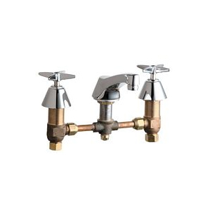 Chicago Faucets - 403-XKCP - Widespread Lavatory Faucet