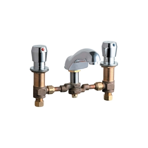 Chicago Faucets - 404-665SWCP - Lavatory Fitting, Deck Mounted Swivel