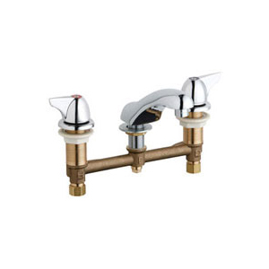 Chicago Faucets - 404-V1000CP - Widespread Lavatory Faucet
