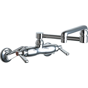 Chicago Faucets - 445-DJ13XKCP - Wall Mounted Faucet