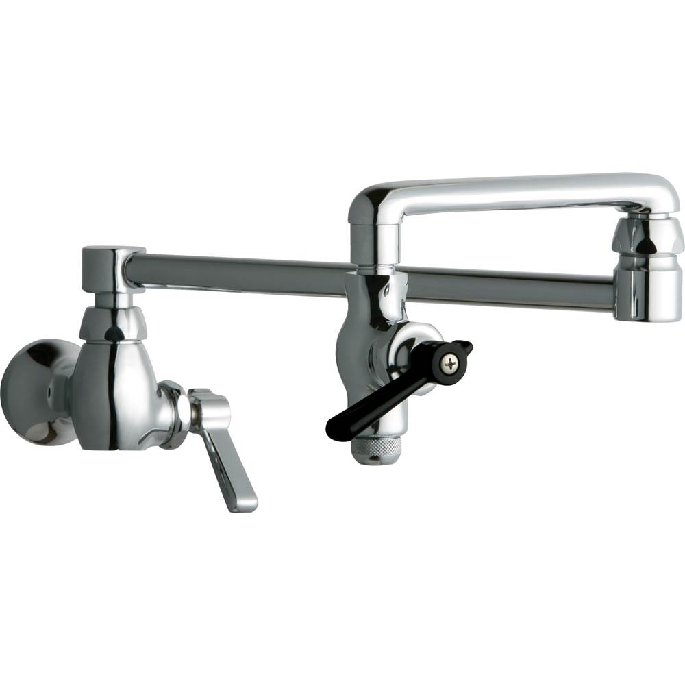 Chicago Faucets - 515-CP - Wall Mounted Pot Filler Faucet