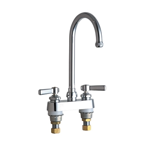Chicago Faucets - 526-GN2AE1CP - 4-inch Deck Mounted Service Sink Faucet
