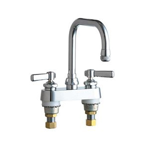 Chicago Faucets - 526-XKABCP - 4-inch Deck Mounted Sink Faucet
