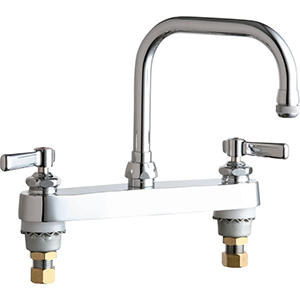 Chicago Faucets - 527-CP - FILL Fitting, Deck Mounted 8-inch CC