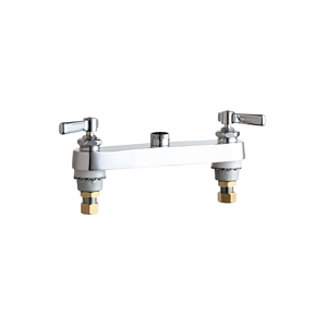 Chicago Faucets - 527-LESSSPTCP - 8-inch Deck Mounted Sink Faucet