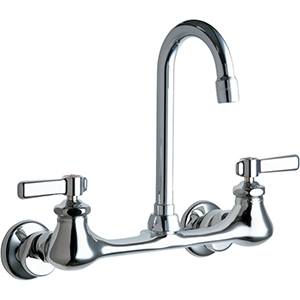 Chicago Faucets - 540-LDGN1AE3ABCP - Wall Mounted Faucet