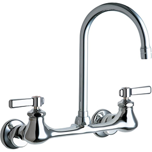 Chicago Faucets - 540-LDGN2AE3CP - Wall Mounted Faucet