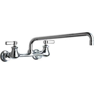 Chicago Faucets - 540-LDL15E1CP - Wall Mounted Service Sink Faucet