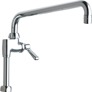 Chicago Faucets - 613-AL12ABCP - Pre-Rinse Adapta Faucet (Add on Faucet)