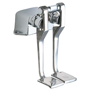 Chicago Faucets - 625-LPSLOABCP - Foot Pedal Valve