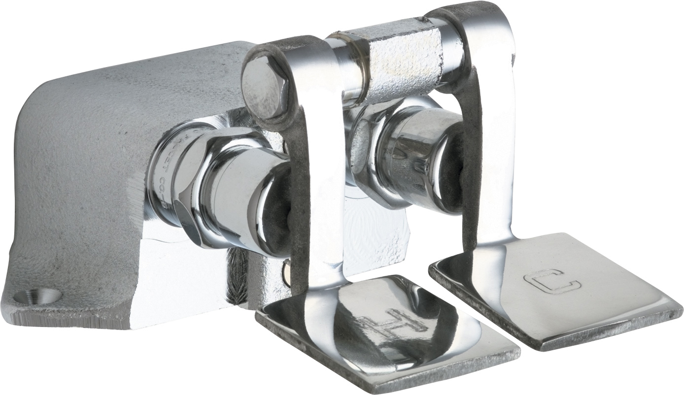 Chicago Faucets 625 Rcf Rough Chrome Foot Pedal Valve