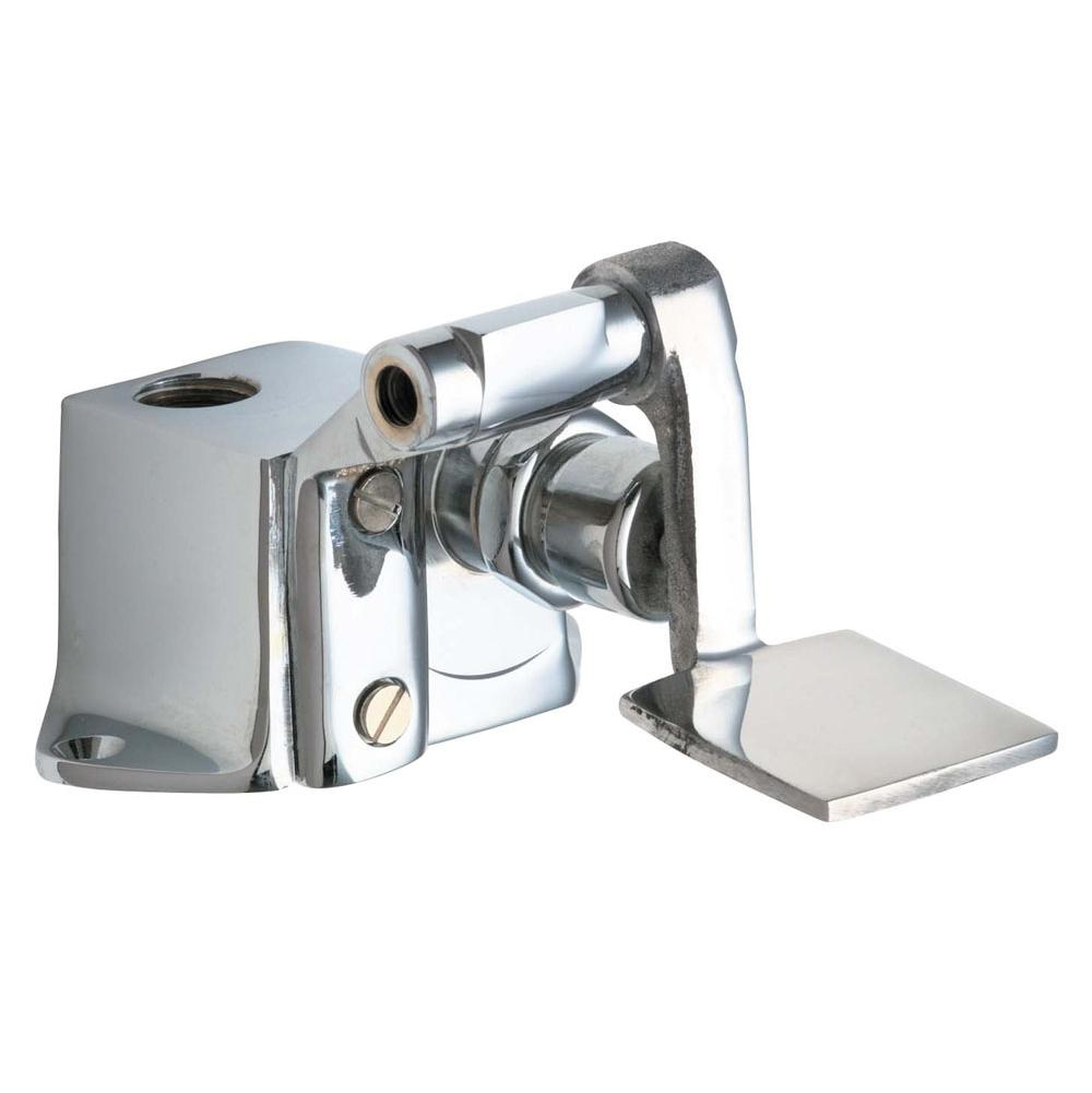 Chicago Faucets 628 Cp Single Foot Pedal Valve