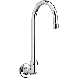 Chicago Faucets - 629-GN2AE3ABCP - Wall Mounted Spout