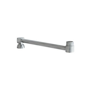 Chicago Faucets - 686-126KJKRCF - Double Jointed Swing Spout