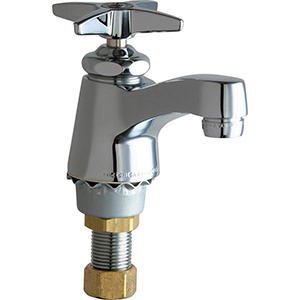 Chicago Faucets - 700-COLDXKABCP - Single Lavatory Faucet