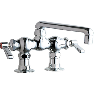 Chicago Faucets - 772-CP - 3-3/8-inch Center Deck Mounted Sink Faucet