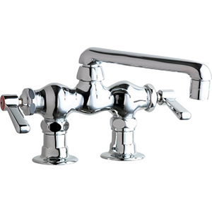Chicago Faucets - 772-XKCP - 3-3/8-inch Center Deck Mounted Sink Faucet