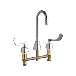 Chicago Faucets 786-GN1AE29CP - CONCEALED KITCHEN SINK FAUCET