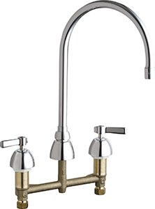 Chicago Faucets 786-GN8AE35-369ABCP