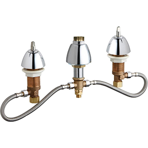 Chicago Faucets 786-HLESHAB - CONCEALED KITCHEN SINK FAUCET