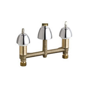 Chicago Faucets 786-LESSSPT&HDLCP - CONCEALED KITCHEN SINK FAUCET