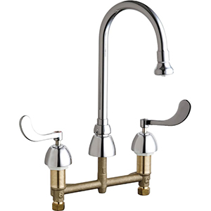 Chicago Faucets - 786-XKABCP - Lavatory Fitting, Deck Mounted