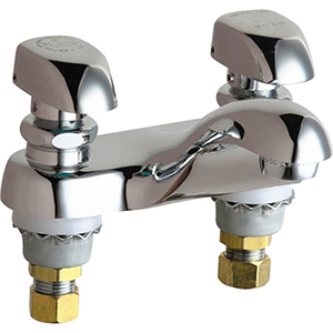 Chicago Faucets - 802-335CP - 4-inch Center Lavatory Faucet