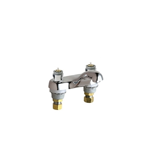 Chicago Faucets - 802-665LESSHDLCP - 4-inch Center Lavatory Faucet