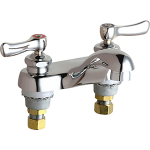 Chicago Faucets - 802-VE2805CP - 4-inch Center Lavatory Faucet