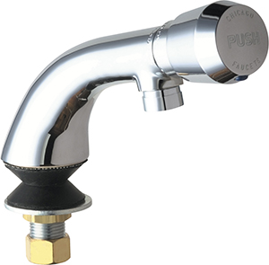 Chicago Faucets - 807-E2805-665PSHCP - Single Faucet Metering