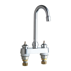 Chicago Faucets 895-E35LESSHDLABCP