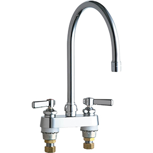 Chicago Faucets - 895-GN8AE3CP - Lavatory/Bar Faucet