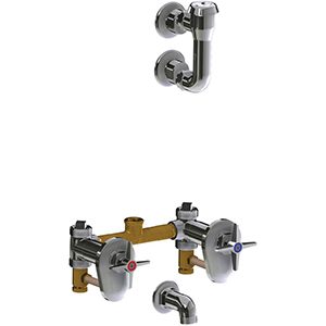 Chicago Faucets - 911-IS781-1KCP - Service Sink Fitting