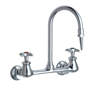 Chicago Faucets - 942-WSLCP - Laboratory Sink Faucet