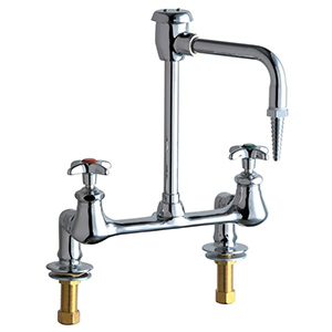 Chicago Faucets - 947-CP - Laboratory Sink Faucet