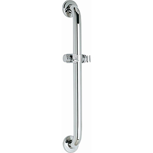 "Chicago Faucets 9800-024CP 24"" Long ADA Grab Bar"