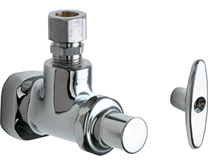 Chicago Faucets - 995-CP - Angle Stop