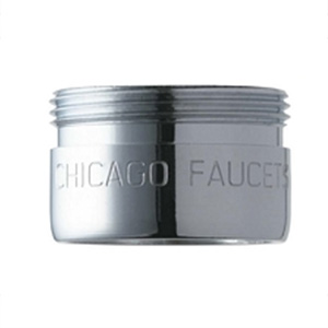 Chicago Faucets E37JKABCP - 1.5 GPM (5.7 L/min) Non-Aerating Outlet Pressure Compensating Laminar Flow